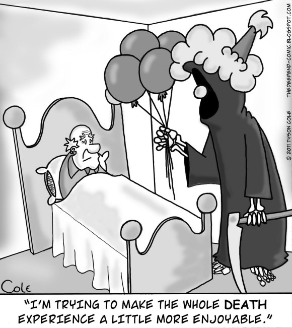 Comic by Tyson Cole.